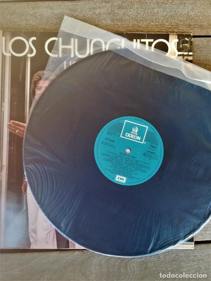 Discos de vinilo: LP DISCO DE VINILO,LOS CHUNGUITOS,AÑO 1979 FIRMADO POR LOS CANTANTES,RUMBA FLAMENCO,CANTE GITANO - Foto 10 - 114197963