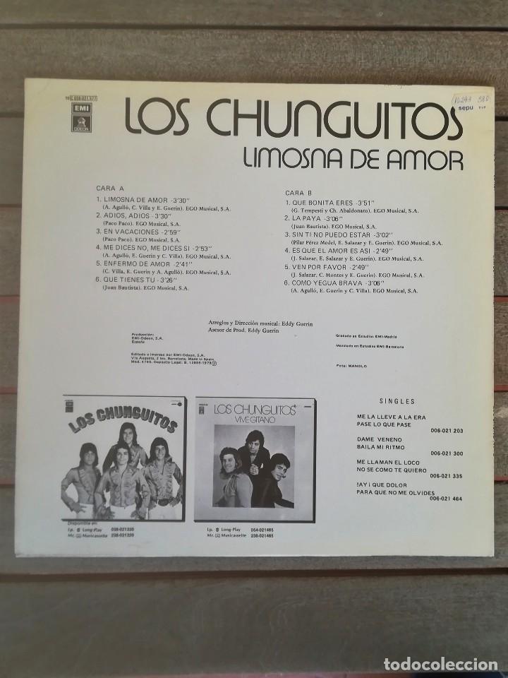 Discos de vinilo: LP DISCO DE VINILO,LOS CHUNGUITOS,AÑO 1979 FIRMADO POR LOS CANTANTES,RUMBA FLAMENCO,CANTE GITANO - Foto 11 - 114197963