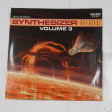 Discos de vinilo: SYNTHESIZER GREATEST VOLUME 3. TDKDA25. Lote 207049707