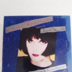 Discos de vinilo: LINDA RONSTADT CRY LIKE A RAINSTORM ( 1989 ELEKTRA GERMANY ) AARON NEVILLE BUEN ESTADO GENERAL. Lote 114202131