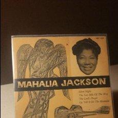 Discos de vinilo: MAHALIA JACKSON SILENT NIGHT +3 EP. Lote 114202219