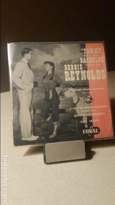 DEBBIE REYNOLDS TAMMY AND THE BACHELOR SOUNDTRACK (Música - Discos de Vinilo - EPs - Bandas Sonoras y Actores)