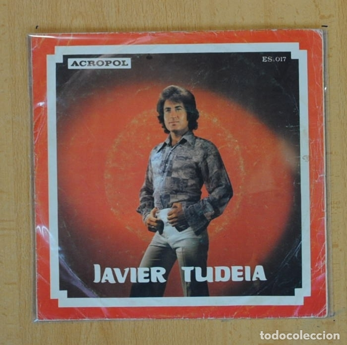 JAVIER TUDEIA - TIERRA / LA COPA DE CRISTAL - SINGLE (Música - Discos - Singles Vinilo - Flamenco, Canción española y Cuplé)