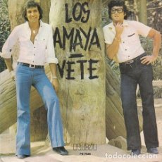 Dischi in vinile: LOS AMAYA - VETE - SINGLE DE VINILO RUMBA CATALANA - RUMBAS. Lote 114205023