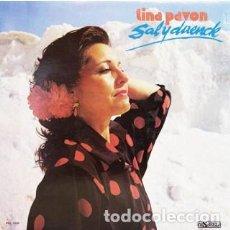 Discos de vinilo: TINA PAVÓN - SAL Y DUENDE (VINILO LP). Lote 114205723