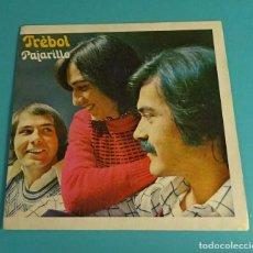 Discos de vinilo: TRÉBOL. PAJARILLO. MIENTRAS TODO EL MUNDO SE ENAMORA. CBS. Lote 114210151
