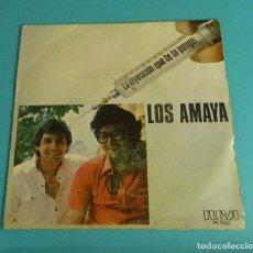 Discos de vinilo: LOS AMAYA. LA INYECCIÓN (QUE TE LA PONGO). COCOS. RCA. Lote 114211067