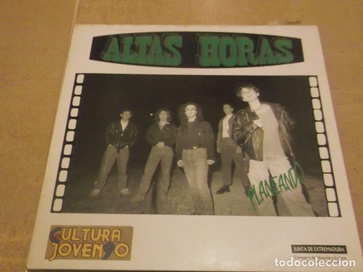 LP VINILO ALTAS HORAS - PLANEANDO . 1991 . CÁCERES (Música - Discos - LP Vinilo - Grupos Españoles de los 90 a la actualidad)