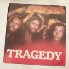 Discos de vinilo: DISCO VINILO BEEGEES. TRAGEDY.. Lote 114213822
