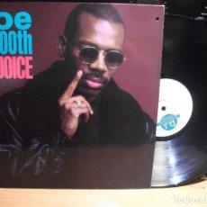 Discos de vinilo: JOE SMOOTH REJOICE LP GERMANY 1989 PDELUXE. Lote 114213883