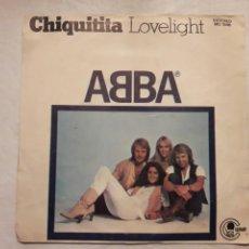 Discos de vinilo: VINILO ABBA. CHIQUITITA. LOVELIGHT.. Lote 114214936