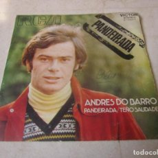 Discos de vinilo: ANDRES DO BARRO - PANDEIRADA - RCA 1971. Lote 114227319