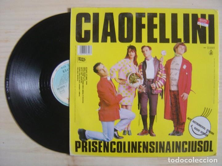 Discos de vinilo: CIAO FELLINI - Prisencolinensinainciusol (Acid Remix) - MAXISINGLE 45 ESPAÑOL - 1989 - HISPAVOX - Foto 2 - 114257063