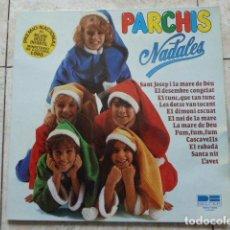Discos de vinilo: PARCHIS. NADALES. BELTER. LP. VINILO EN EXCELENTE ESTADO. CON BELEN TROQUELADO.. Lote 115357310