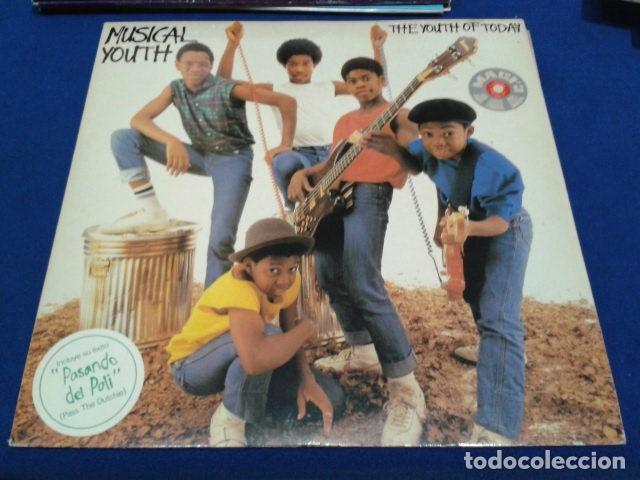 LP VINILO MUSICAL YOUTH ( THE YOUTH TODAY ) 1982 ARIOLA ENCARTE COMIC + POSTER (Música - Discos - LP Vinilo - Reggae - Ska)