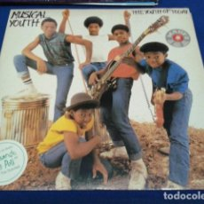 Discos de vinilo: LP VINILO MUSICAL YOUTH ( THE YOUTH TODAY ) 1982 ARIOLA ENCARTE COMIC + POSTER . Lote 114266823