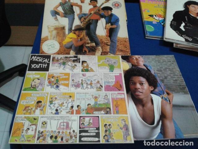 Discos de vinilo: LP VINILO MUSICAL YOUTH ( THE YOUTH TODAY ) 1982 ARIOLA ENCARTE COMIC + POSTER - Foto 4 - 114266823