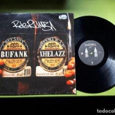 Discos de vinilo: R DE RUMBA - BUFANK - REUNIÓN - SISTEMA RAP - MAXI - 2003. Lote 114272235