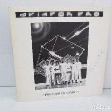 Discos de vinilo: AVIADOR DRO. FIRMADO POR LOS COMPONENTES DEL GRUPO. LP. VINILO MAXI-SINGLE 1982. Lote 114272687