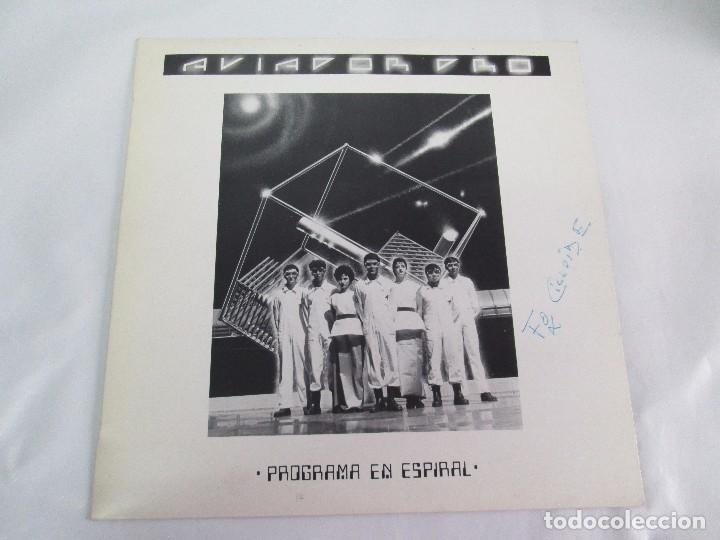 Discos de vinilo: AVIADOR DRO. FIRMADO POR LOS COMPONENTES DEL GRUPO. LP. VINILO MAXI-SINGLE 1982 - Foto 2 - 114272687