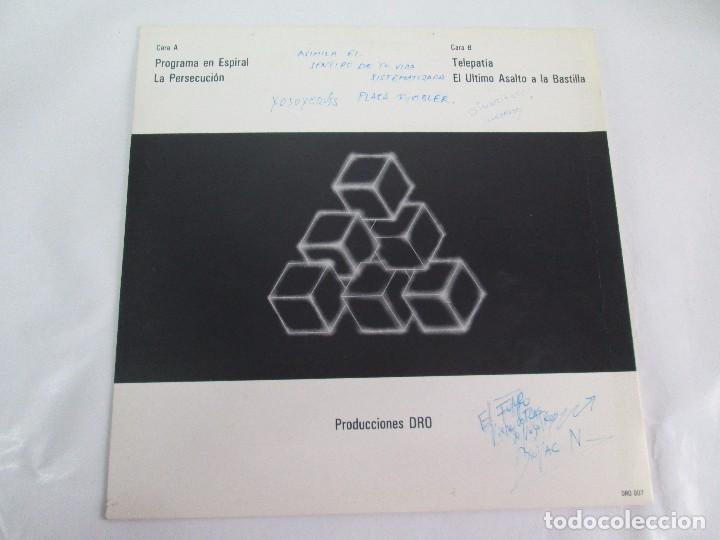 Discos de vinilo: AVIADOR DRO. FIRMADO POR LOS COMPONENTES DEL GRUPO. LP. VINILO MAXI-SINGLE 1982 - Foto 4 - 114272687