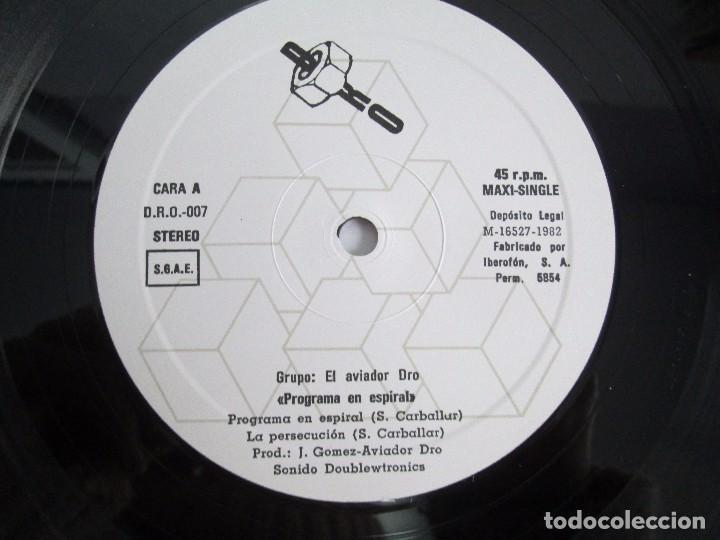 Discos de vinilo: AVIADOR DRO. FIRMADO POR LOS COMPONENTES DEL GRUPO. LP. VINILO MAXI-SINGLE 1982 - Foto 9 - 114272687