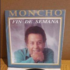Discos de vinilo: MONCHO / FIN DE SEMANA / SINGLE / HORUS - 1992 / VINILO DE LUJO. ***/****. Lote 114276179