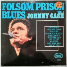 Discos de vinilo: JOHNNY CASH - FOLSOM PRISON BLUES. Lote 114276579