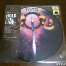 Discos de vinilo: TOTO - PICTURE DISC - LIMITADO RECORD STORE DAY - HOLD THE LINE - 40 ANIVERSARIO. Lote 114279327