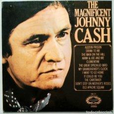 Discos de vinilo: JOHNNY CASH - THE MAGNIFICENT JOHNNY CASH. Lote 114280103