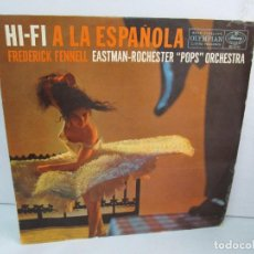 Discos de vinilo: HI-FI A LA ESPAÑOLA. FREDERICK FENNEL. EASTMAN-ROCHESTER POPS PRCHESTRA. LP VINILO. Lote 114283931