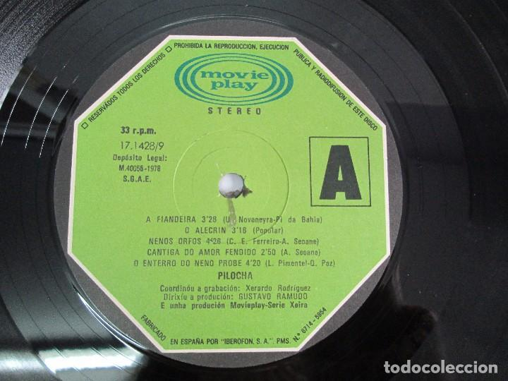 Discos de vinilo: PILOCHA. LP VINILO. MOVIEPLAY 1978. VER FOTOGRAFIAS ADJUNTAS - Foto 4 - 114285115