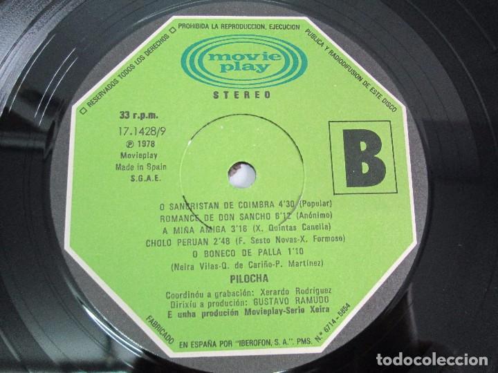 Discos de vinilo: PILOCHA. LP VINILO. MOVIEPLAY 1978. VER FOTOGRAFIAS ADJUNTAS - Foto 6 - 114285115