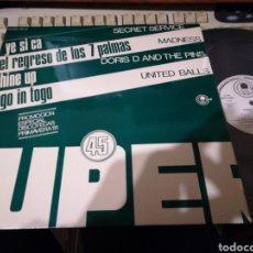 Discos de vinilo: MAXI PROMOCIONAL PROMOCIÓN ESPECIAL DISCOTECAS PRIMAVERA '81.A ESTRENAR. Lote 114292886