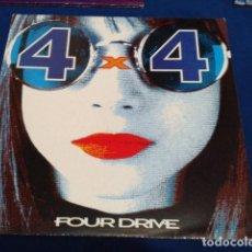 Discos de vinilo: LP MAXI SINGLE PINK RECORDS MURCIA ( 4 X 4 FOUR DRIVE ) 1994 VINILO + CATALOGO CAMISETAS. Lote 114299127