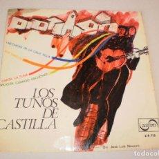 Dischi in vinile: SINGLE LOS TUNOS DE CASTILLA. LAS CHICAS DE LA CRUZ ROJA + 3 TEMAS. ZAFIRO 1966 SPAIN (PROBADO). Lote 114311031