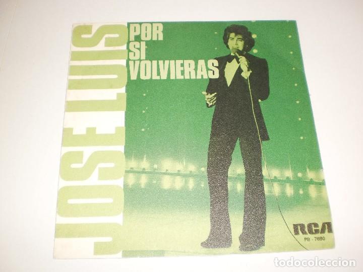 SINGLE JOSÉ LUIS EL PUMA. POR SI VOLVIERAS ¿TE IMAGINAS MARÍA? RCA 1979 SPAIN (PROBADO Y BIEN) (Música - Discos - Singles Vinilo - Grupos y Solistas de latinoamérica)