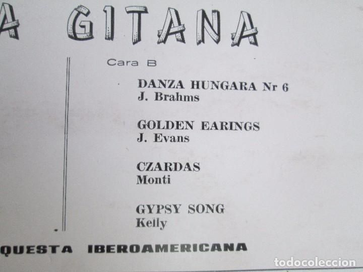 Discos de vinilo: ALMA GITANA. GRAN ORQUESTA IBEROAMERICANA. LP VINILO. MIZAR 1987. VER FOTOGRAFIAS - Foto 8 - 114319511