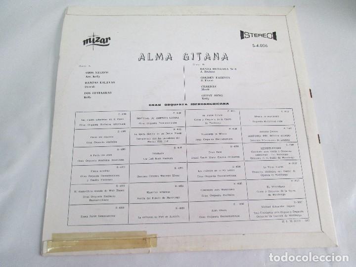 Discos de vinilo: ALMA GITANA. GRAN ORQUESTA IBEROAMERICANA. LP VINILO. MIZAR 1987. VER FOTOGRAFIAS - Foto 9 - 114319511