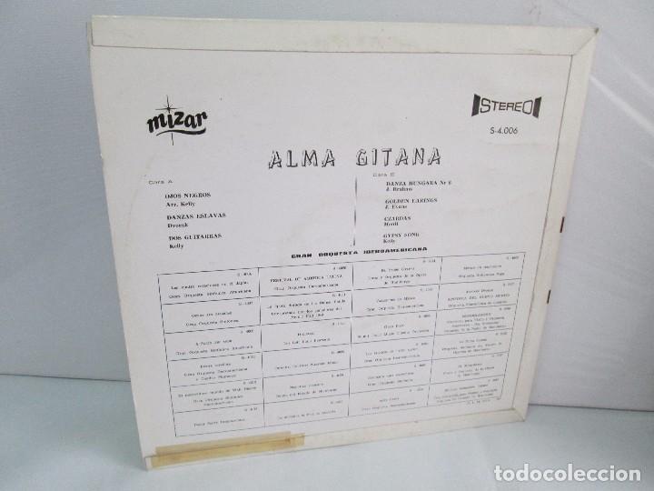 Discos de vinilo: ALMA GITANA. GRAN ORQUESTA IBEROAMERICANA. LP VINILO. MIZAR 1987. VER FOTOGRAFIAS - Foto 10 - 114319511