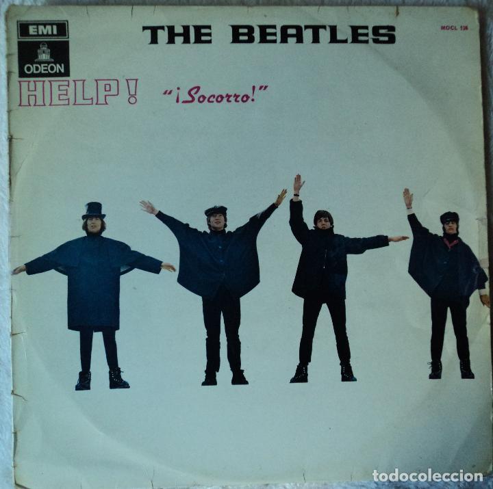 THE BEATLES - HELP - 2.ª EDICIÓN DE 1965 DE ESPAÑA (1 REFERENCIA) (Música - Discos - LP Vinilo - Pop - Rock Extranjero de los 50 y 60)