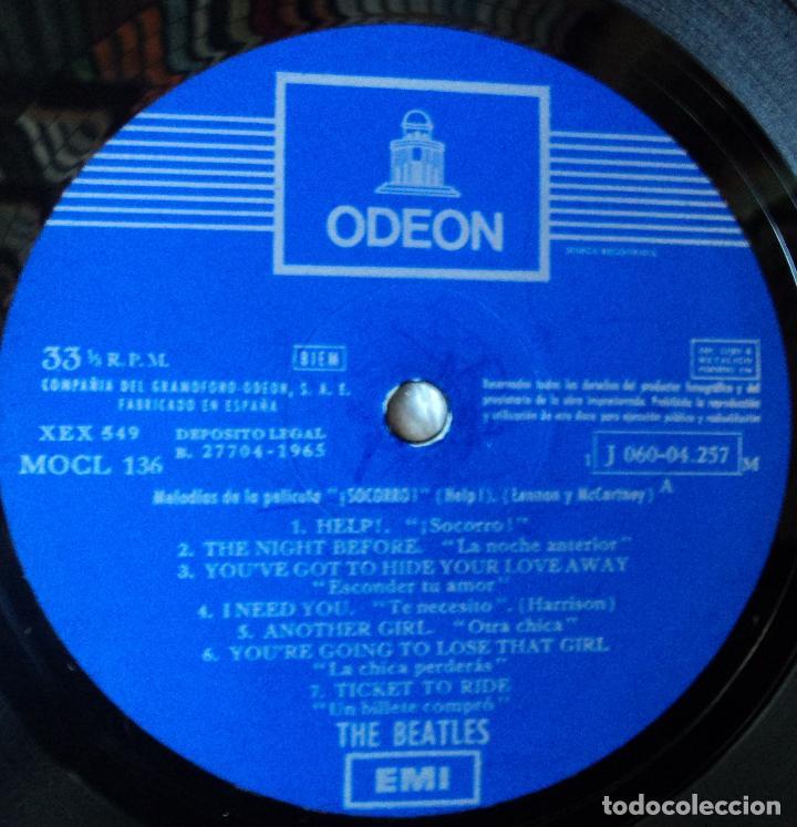 Discos de vinilo: The Beatles - Help - 2.ª Edición de 1965 de España (1 Referencia) - Foto 4 - 114329639