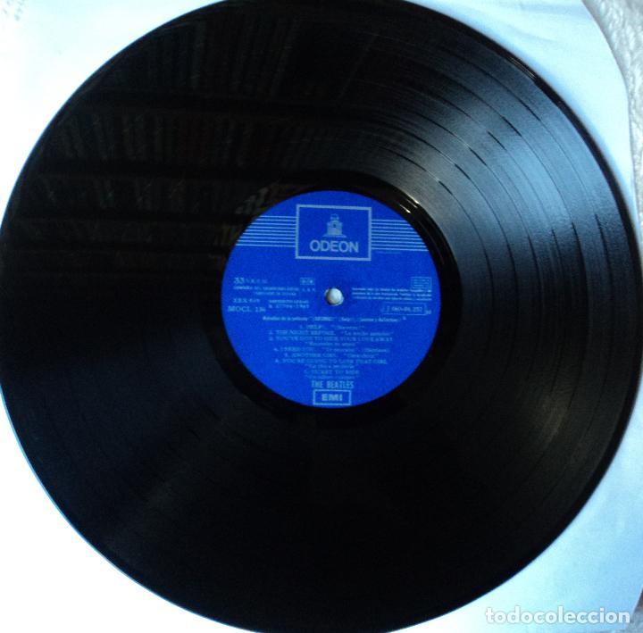 Discos de vinilo: The Beatles - Help - 2.ª Edición de 1965 de España (1 Referencia) - Foto 5 - 114329639