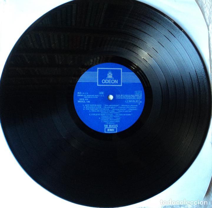 Discos de vinilo: The Beatles - Help - 2.ª Edición de 1965 de España (1 Referencia) - Foto 7 - 114329639