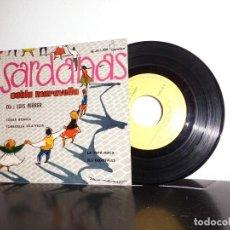 Discos de vinilo: SARDANAS .COBLA MARAVELLA -DIR LUIS FERRER- TOSS BONICA -EP DE 4 CANCIONES - IBEROFON- MADRID- 1960 . Lote 114338115