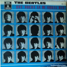 Discos de vinilo: THE BEATLES - A HARD DAY'S NIGHT - 2.ª EDICIÓN DE 1964 DE ESPAÑA. Lote 114338487