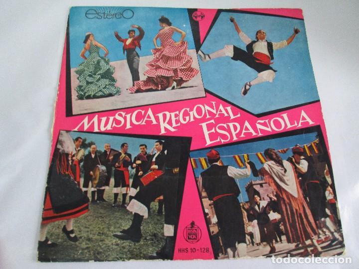 Discos de vinilo: MUSICA REGIONAL ESPAÑOLA. LP VINILO. HISPAVOX. 1959. VER FOTOGRAFIAS ADJUNTAS - Foto 2 - 114346915