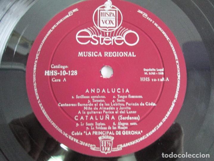 Discos de vinilo: MUSICA REGIONAL ESPAÑOLA. LP VINILO. HISPAVOX. 1959. VER FOTOGRAFIAS ADJUNTAS - Foto 4 - 114346915