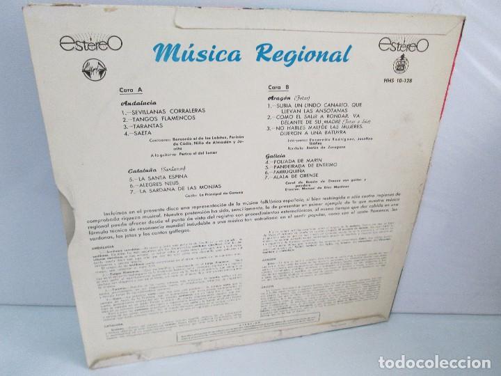 Discos de vinilo: MUSICA REGIONAL ESPAÑOLA. LP VINILO. HISPAVOX. 1959. VER FOTOGRAFIAS ADJUNTAS - Foto 9 - 114346915