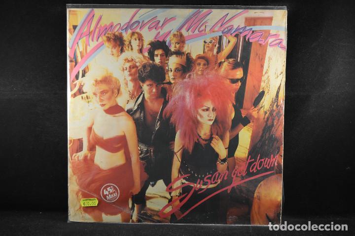 ALMODOVAR Y MCNAMARA - SUSAN GET DOWN - MAXI LP (Música - Discos de Vinilo - Maxi Singles - Grupos Españoles de los 70 y 80)